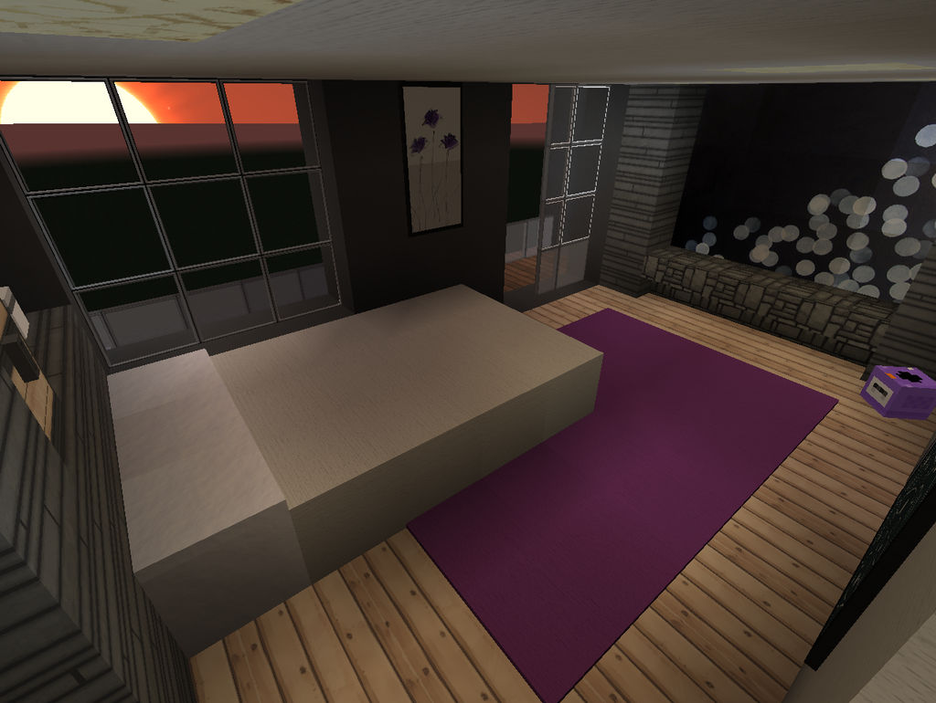 Minecraft: Room Desings - Master bedroom by Jonttux3 on DeviantArt