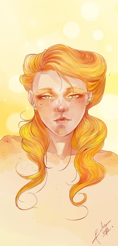 Ginger By Bisho-s On DeviantArt
