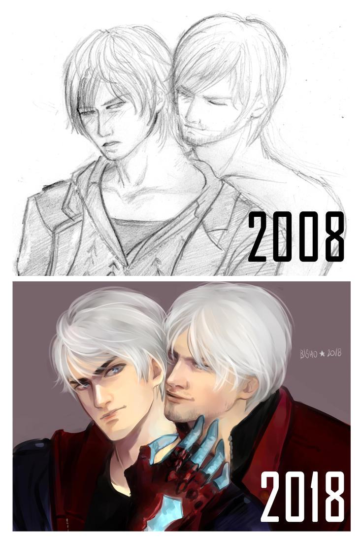 DMC4 - ten years by Bisho-s