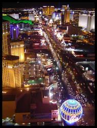 Las Vegas Night View by dayseye