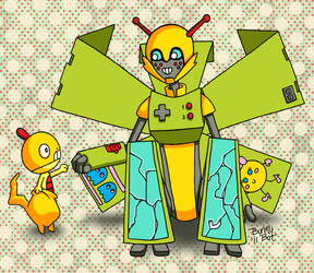 Gamer Bros by bunnybot