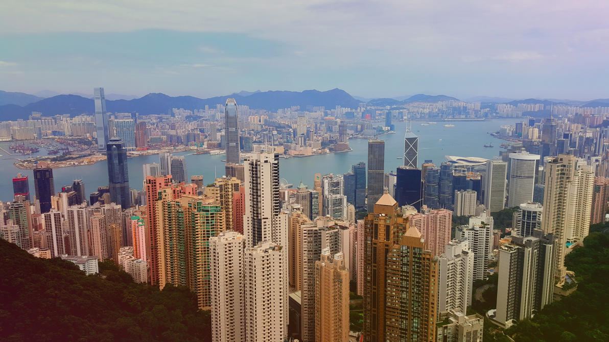 Hong Kong - Concrete Jungle by unwicked