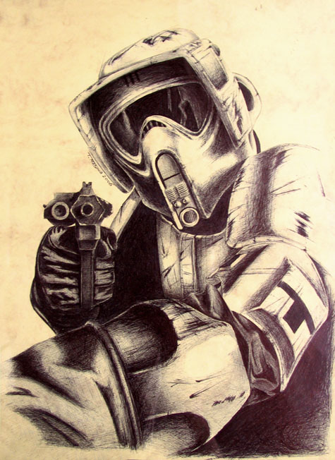 Scout trooper by ripley23