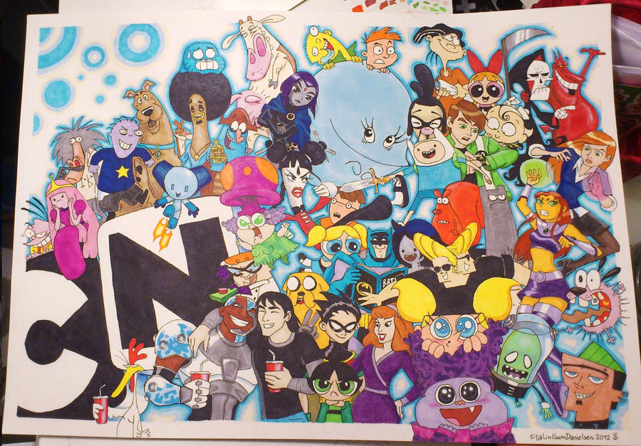 Cartoon network big clash by 3208 on deviantart - 90s cartoon wallpaper ...