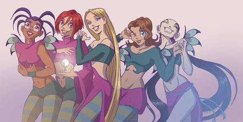 W.I.T.C.H. revisit by 3208