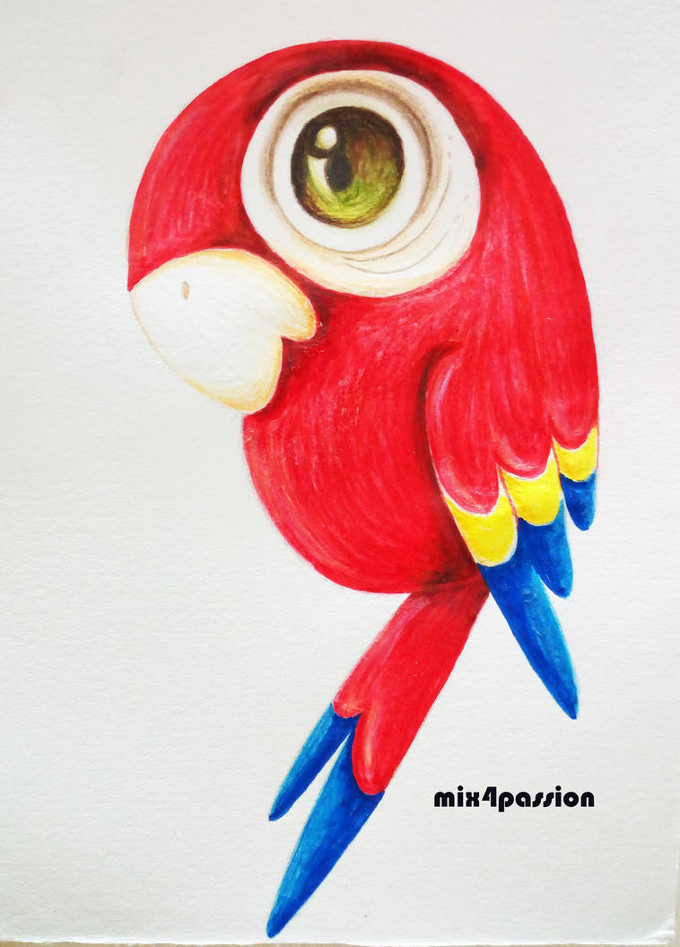 Parrot by mix4passion
