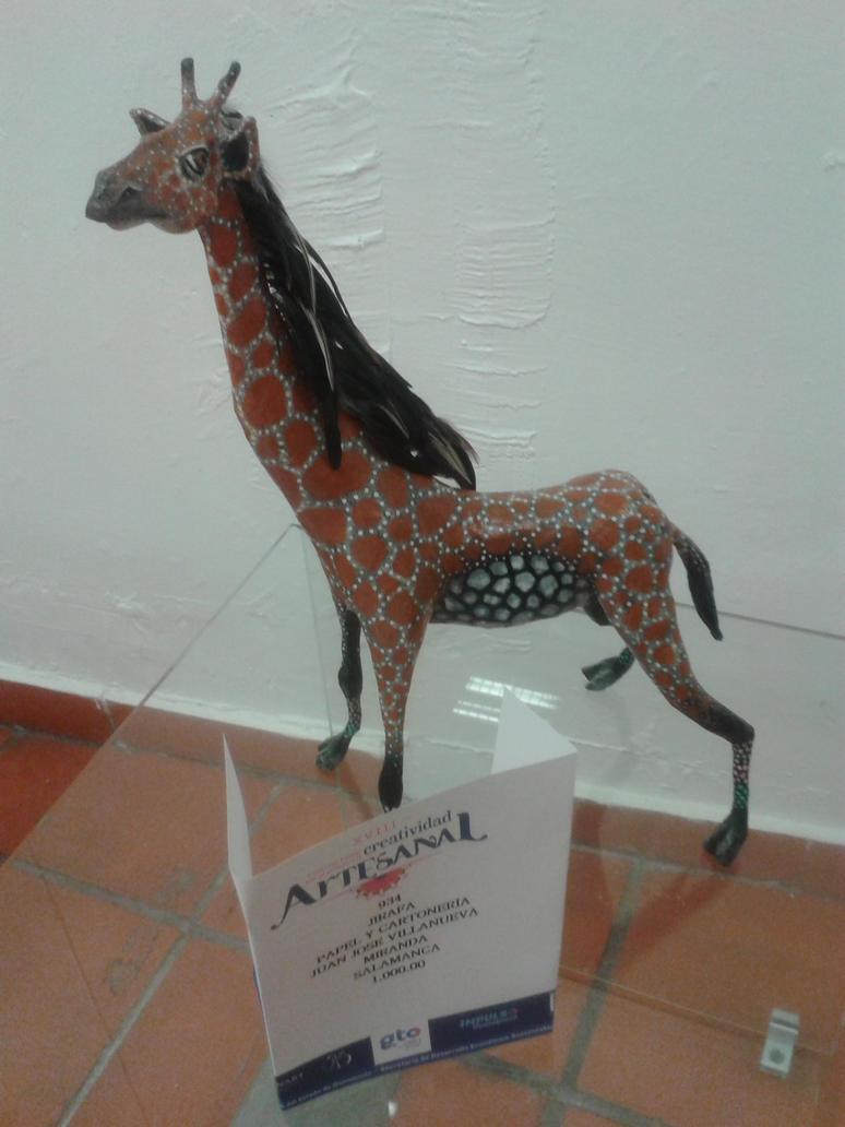 Girafa de Carton by andyphantom2009