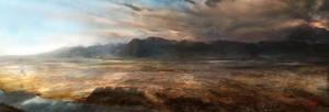 Volcanic border by VirginieCarquin