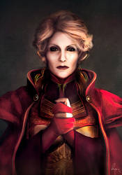 Commission : Gwendolyn Valleau - Dragon Age by VirginieCarquin