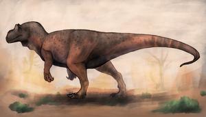 Allosaurus by TeraTheFeathernazi