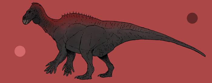 Iguanodon bernissartensis by TeraTheFeathernazi