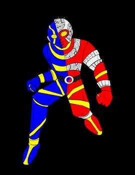 Kikaida Vector (ORIGINAL ART NOT MINE)