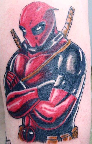 Deadpool tattoo by blackbirde01 on deviantart for Tattoo shops in la crosse wi