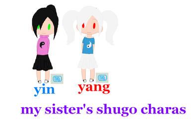 My Sister's Shugo Charas by roseprincess141516