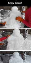 Snow Sans!! by Richimii