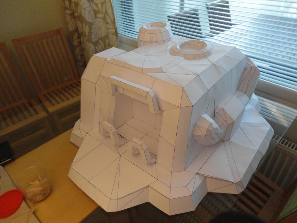 Supply Depot Papercraft by Markonator