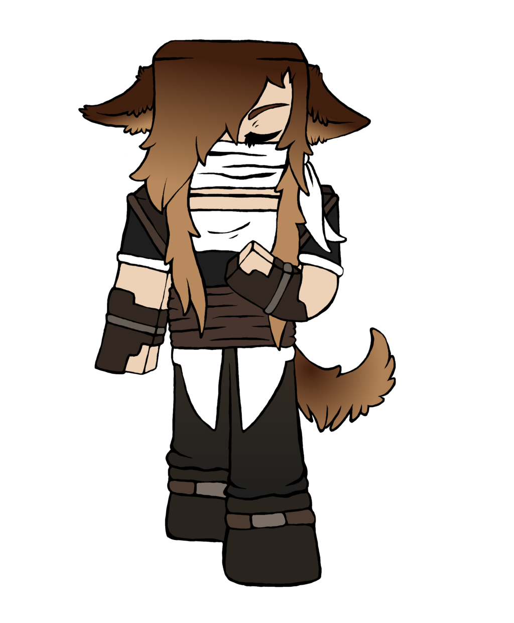 Wolf Girl Minecraft Skin By Mooeymadnessreal On Deviantart