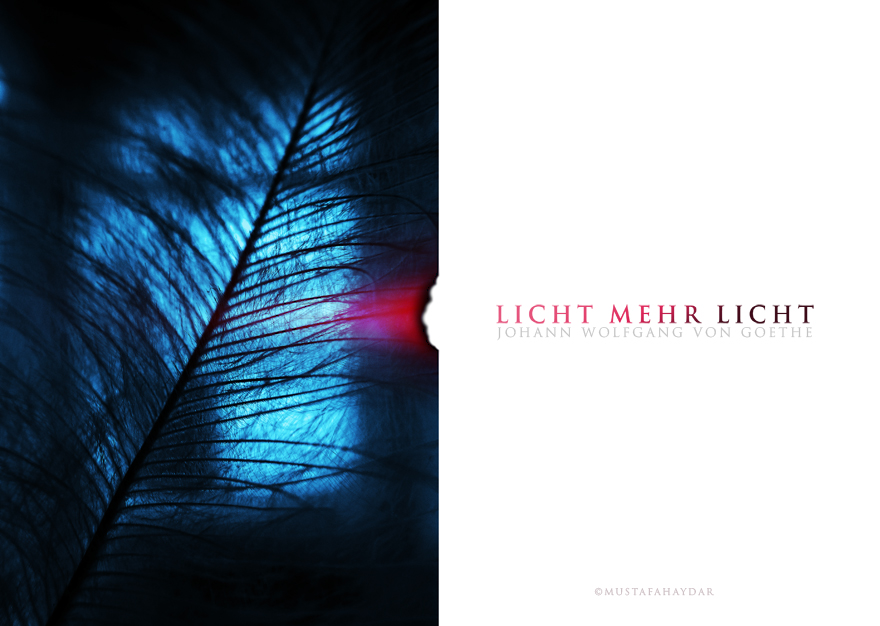 licht mehr licht by mustafahaydar