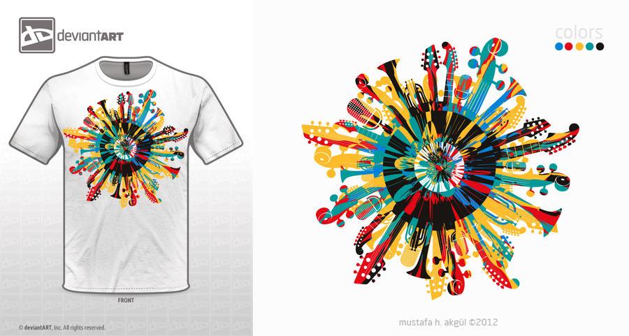 t-shirt.design.LP.white by mustafahaydar