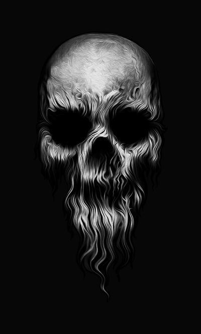 master of skulls by mustafahaydar