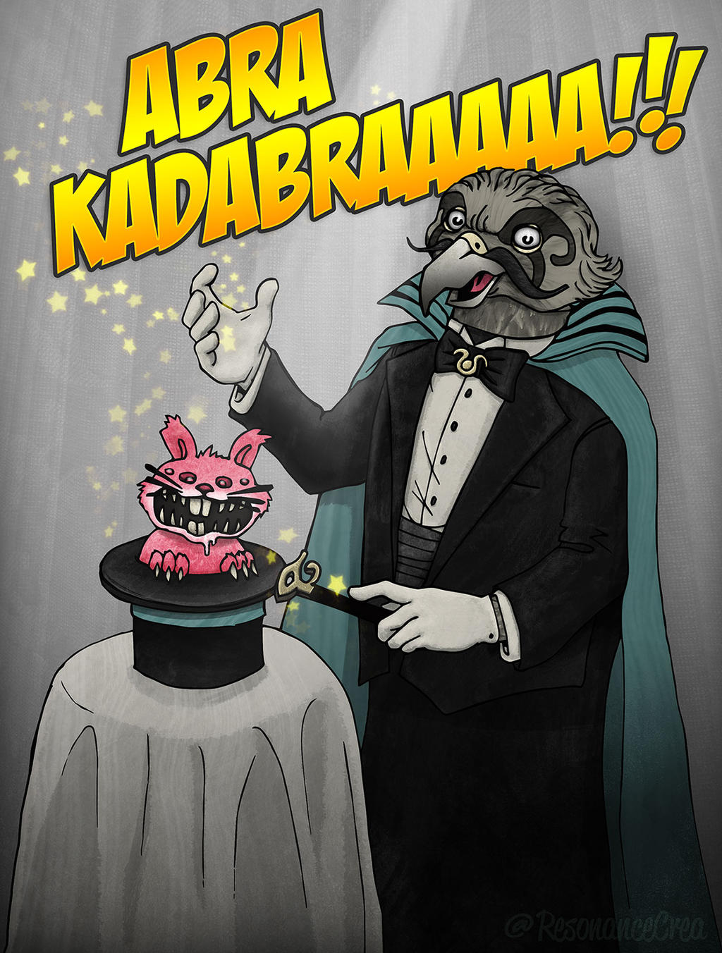 Abra KadabRAAAAA !!! by Resonance-crea