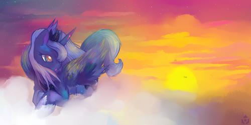 -Princess Luna- by Nyanamo