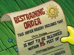 Restraining Order to Chris Savino