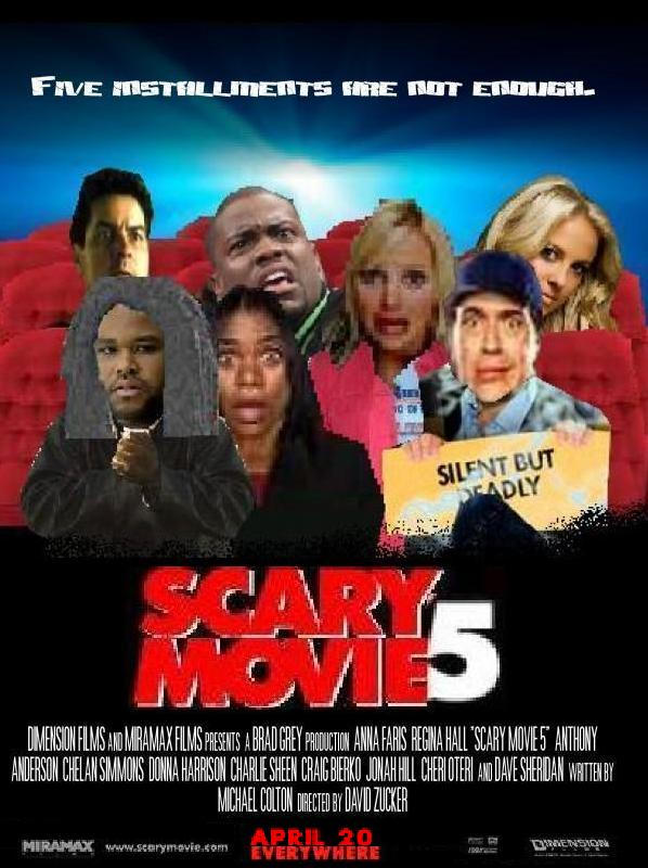 Scary Movie 5 Poster 4 By Screamfan On Deviantart