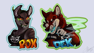 Devious Badges! by 666vlcina