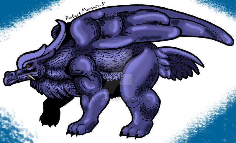 Bear-Griffin Kaiju by Crocazill