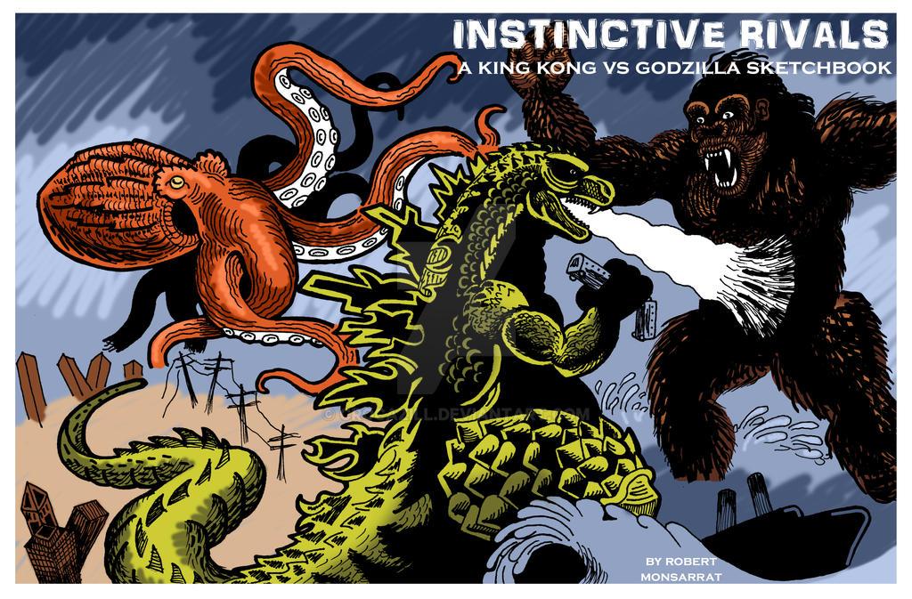 Kong vs Godzilla finished by Crocazill