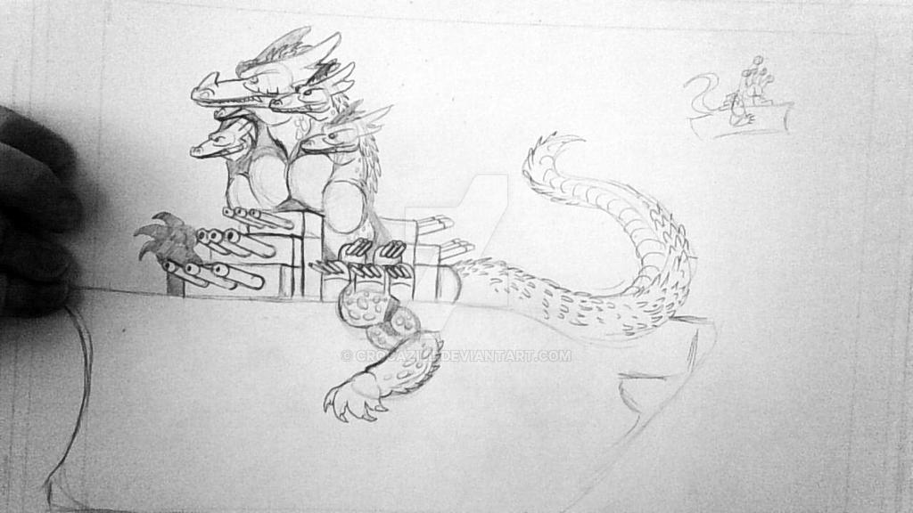Dragon Battleship 2 by Crocazill