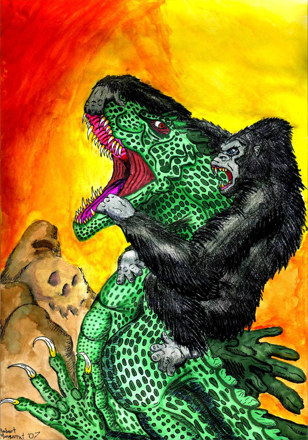 King kong vs godzilla by crocazill on deviantart