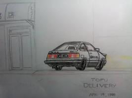 TOFU DELIVERY by Doriftu13