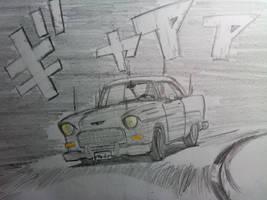 nANI?!? CHEVY BEL AIR GRIPPU?!?!?!? by Doriftu13