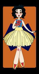 Modern Snow White by Menacorn