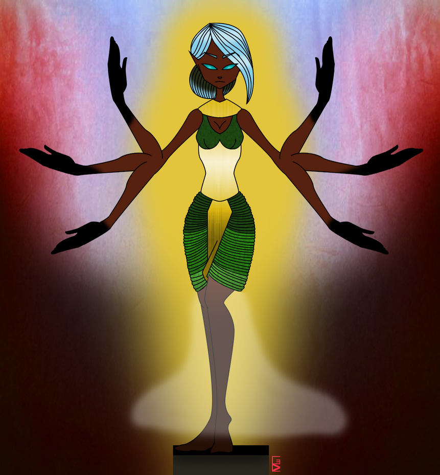 Diosa Egipcia by Menacorn