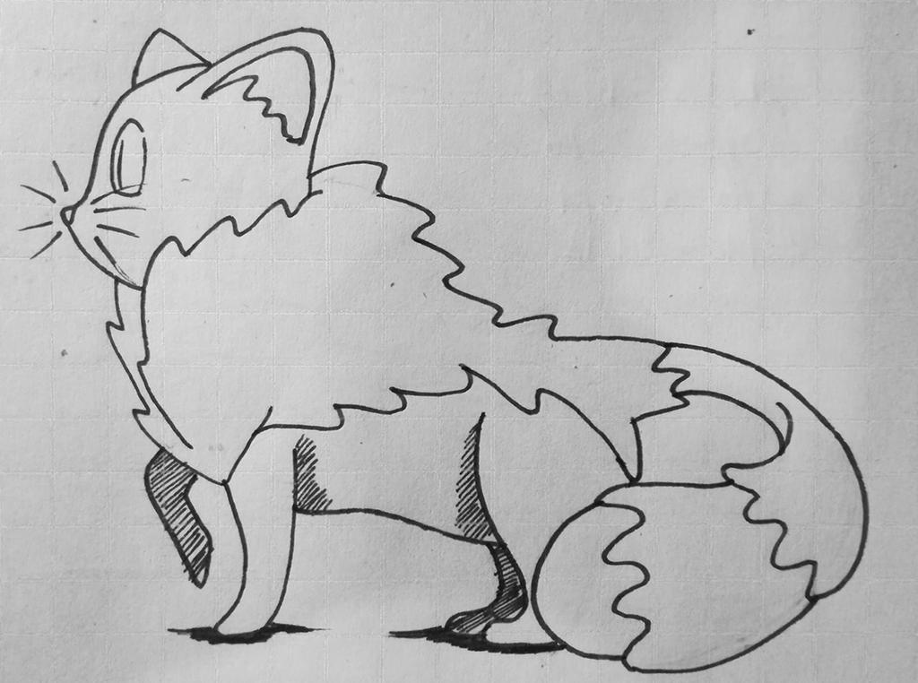 Sketch Pokemon by Menacorn