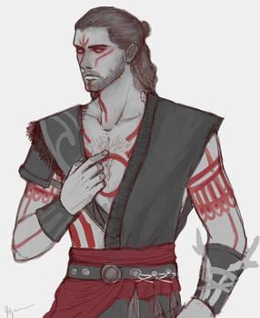 Alexios: Hunter Set Sketch