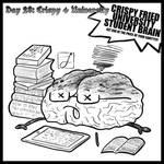 inktober 2021 day 28: crispy + university