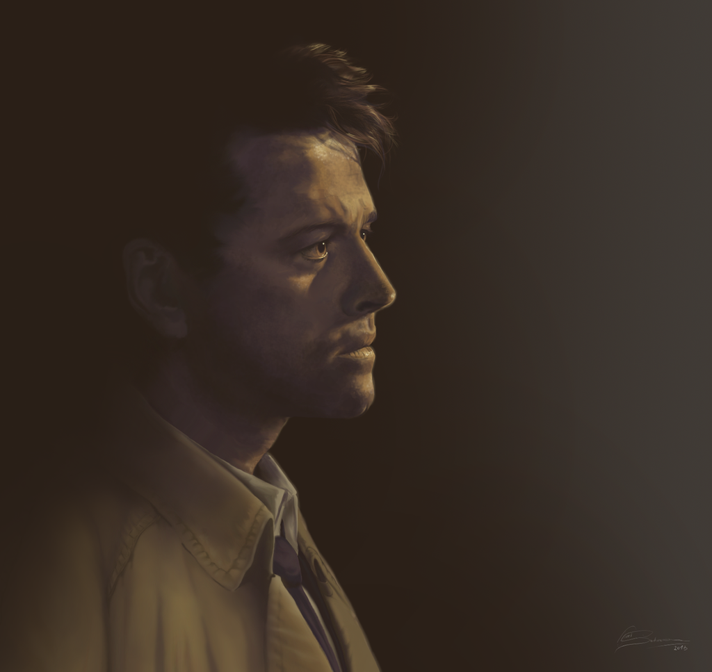Castiel Light Study by Lillilolita