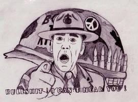 Full Metal Jacket Sgt. Hartman by xXbytemeXx