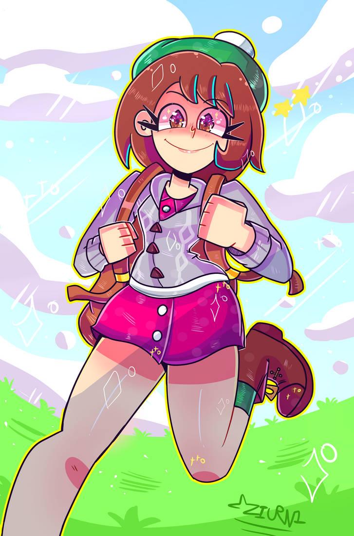 Pokemon Sword Shield Female Trainer Fanart By Kozriel On Deviantart