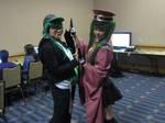 Metrocon 2019 Gumi and Miku