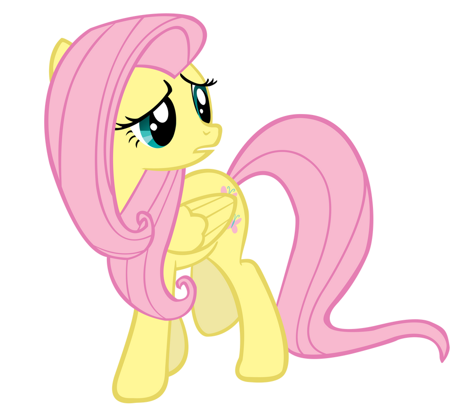 Worried Fluttershy is worried... by TabbyDerp on DeviantArt