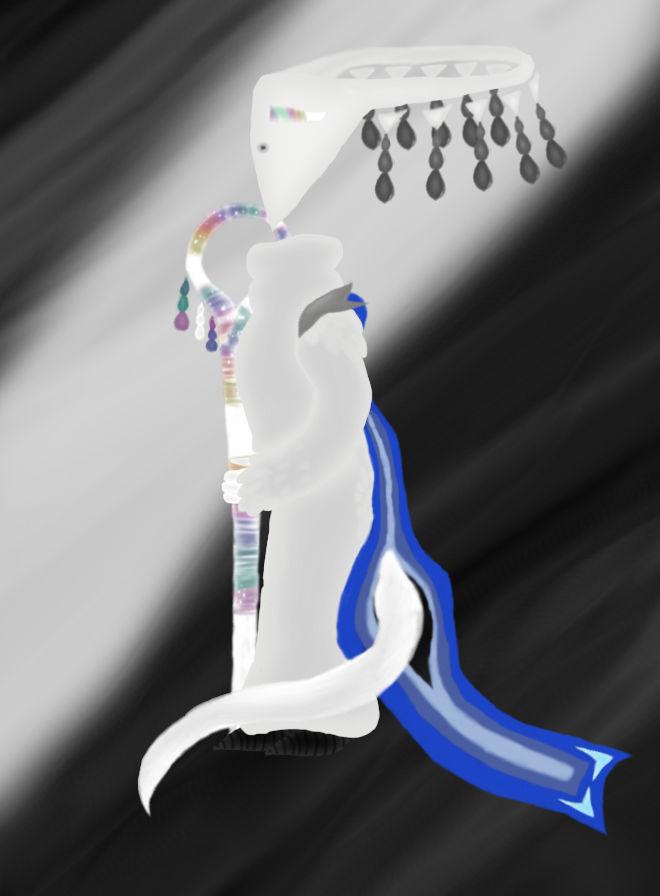 Queen Ammerie. Queen of the Shape heads.
