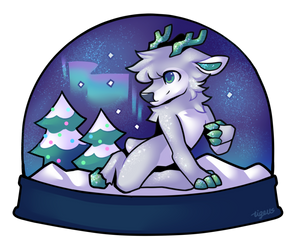 [P] Tinsel Snowglobe