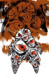 yokai hyakume by AMEZCUA