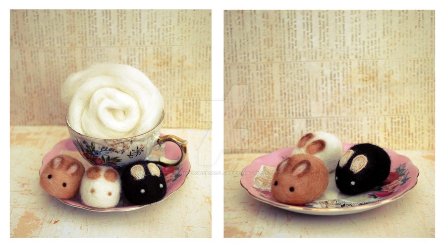 Usagi Set 1 - Desserts by ShadowedPorcelain