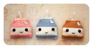 Minis Set 1 - Milk Cartons by ShadowedPorcelain